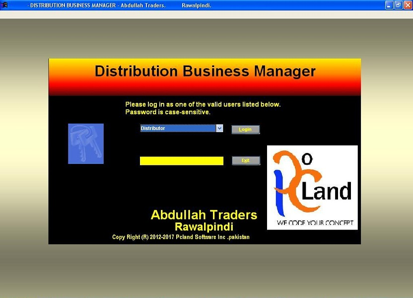 Pcland Software Inc  Pakistan::